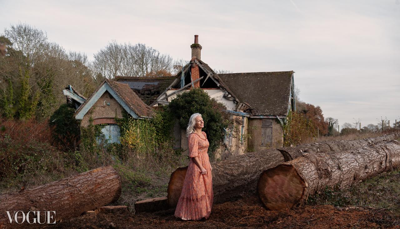 Fashion portrait for Vogue Italia by Farnham, Surrey based photographer James Muller