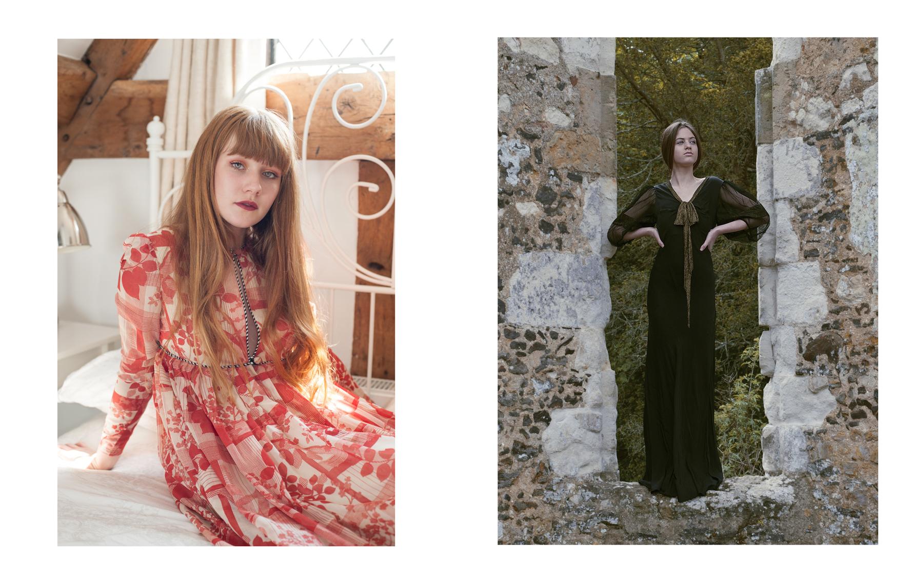 Fashion editorial portrait for 7Roar magazine by Farnham, Surrey based photographer James Muller