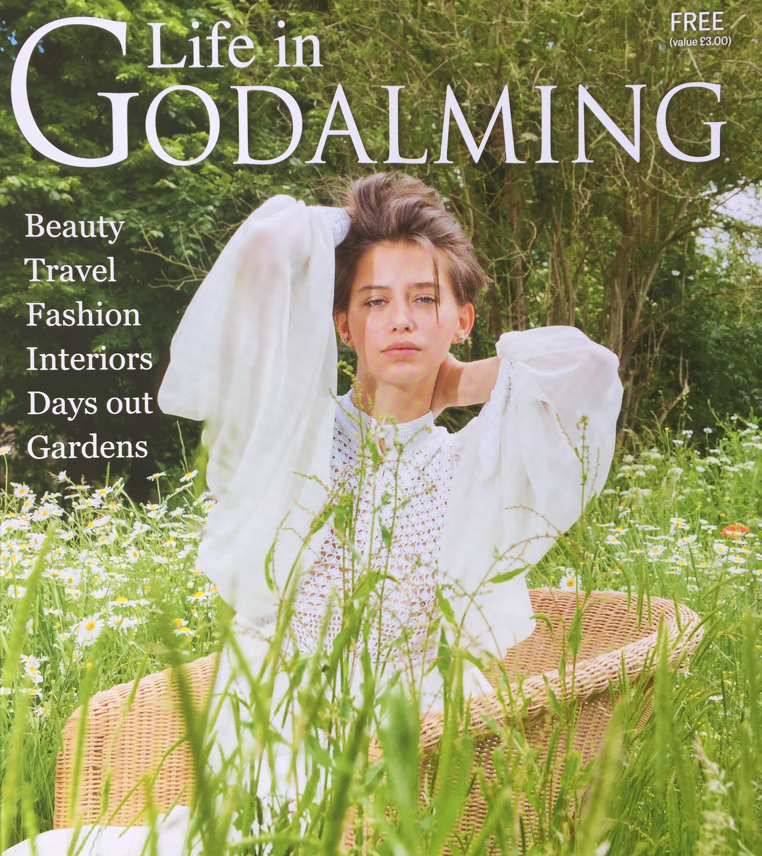 Life in Godalming front cover by Farnham, Surrey based portrait and fashion photographer James Muller