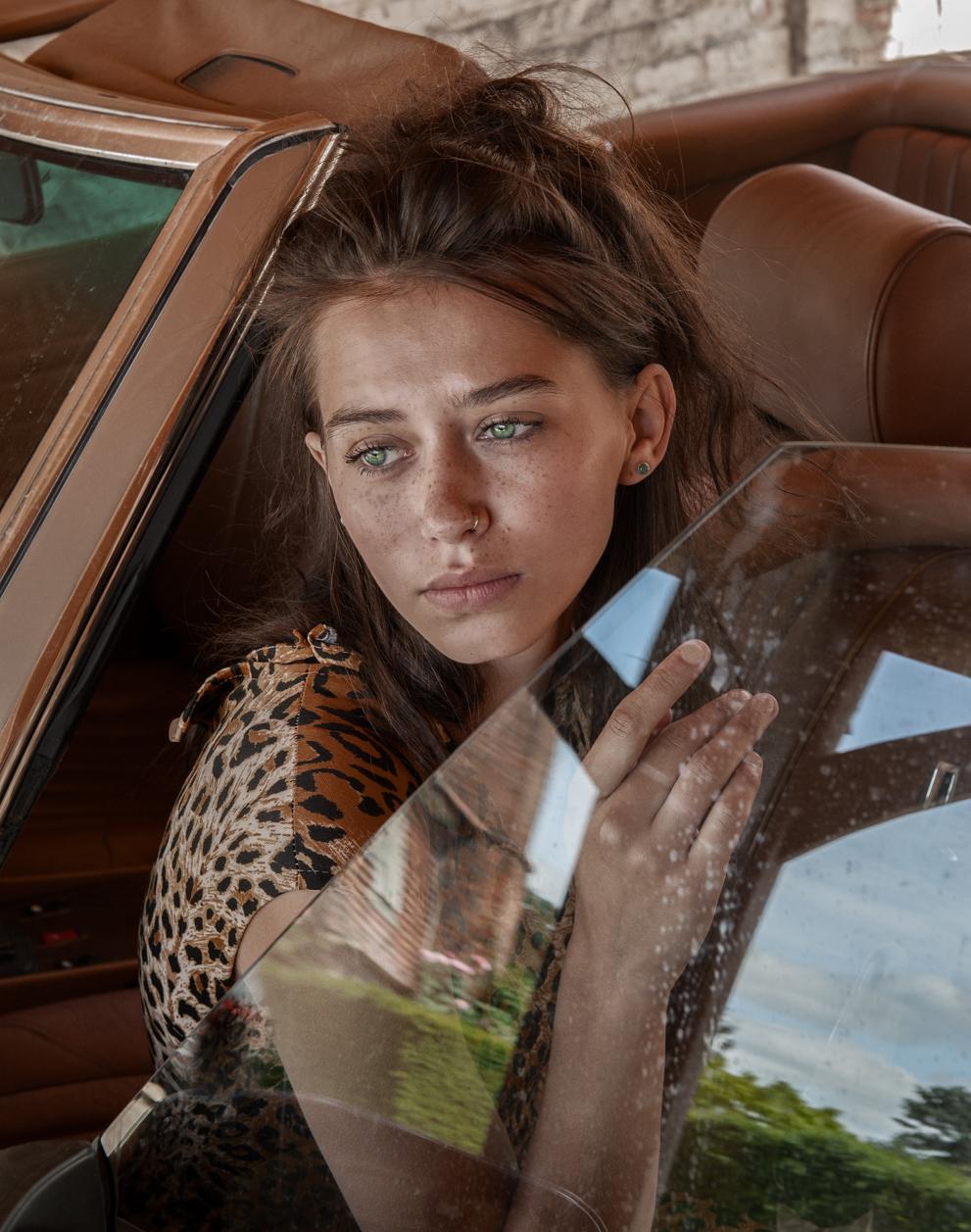 Fashion portrait by Farnham, Surrey based fashion photographer James Muller