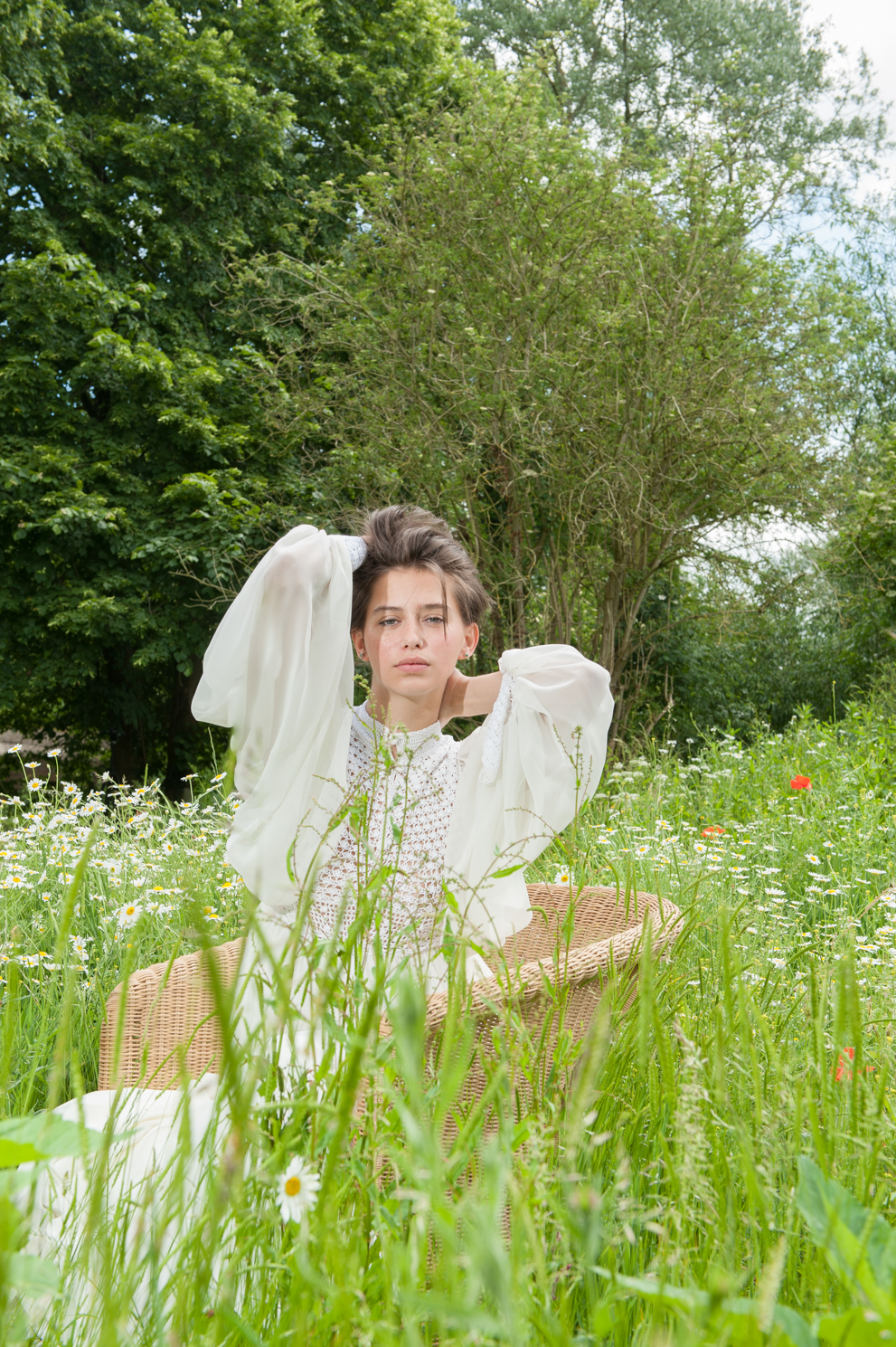 Spring days. Fashion portrait by Farnham, Surrey based portrait photographer James Muller