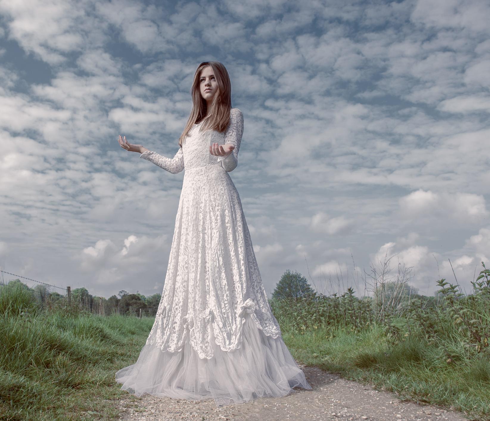 Wedding portrait by Farnham, Surrey based wedding photographer James Muller