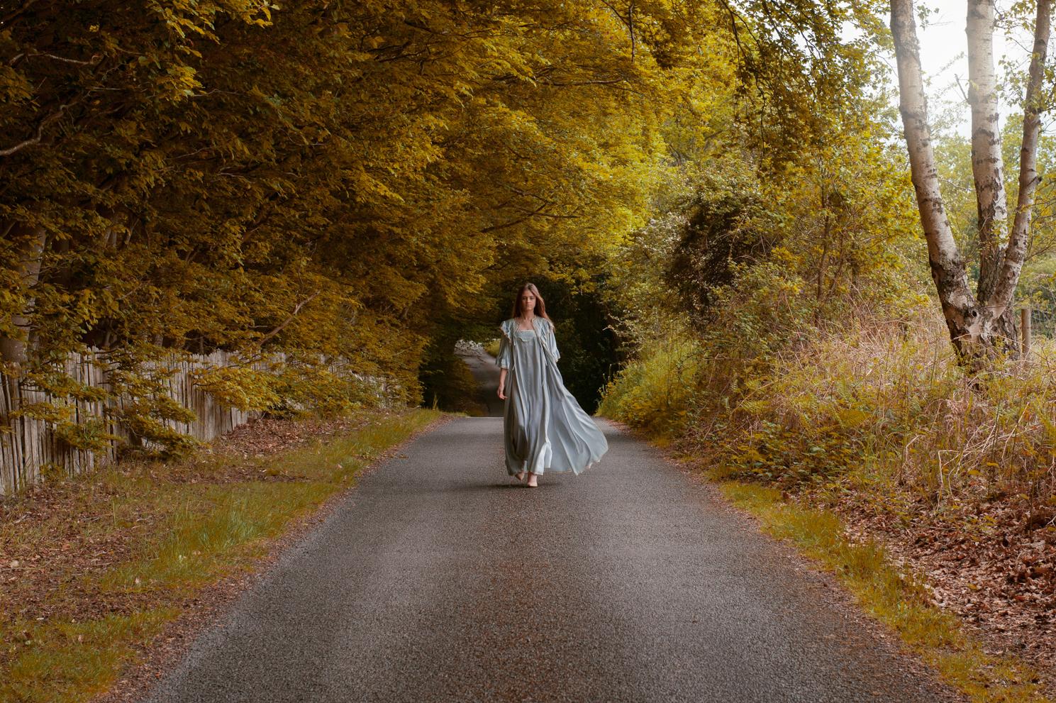 Autumn days. Fashion portrait by Farnham, Surrey based photographer James Muller