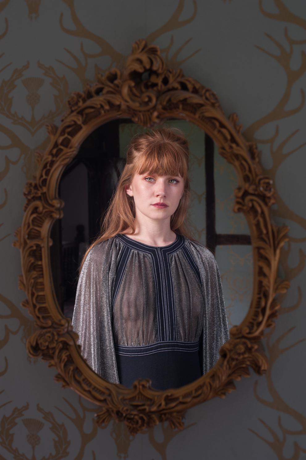Portrait of Hannah Chinn by Farnham, Surrey based fashion photographer James Muller