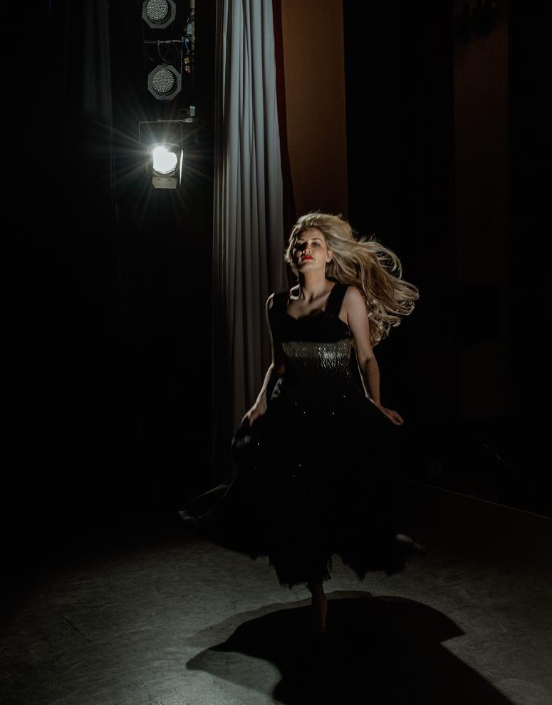 The dancer. Fine art photography by Farnham, Surrey based portrait and fashion photographer James Muller