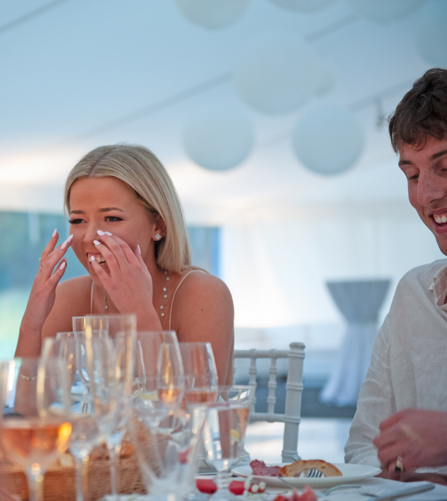 Family event photography for a 21st birthday by Farnham, Surrey based photographer James Muller