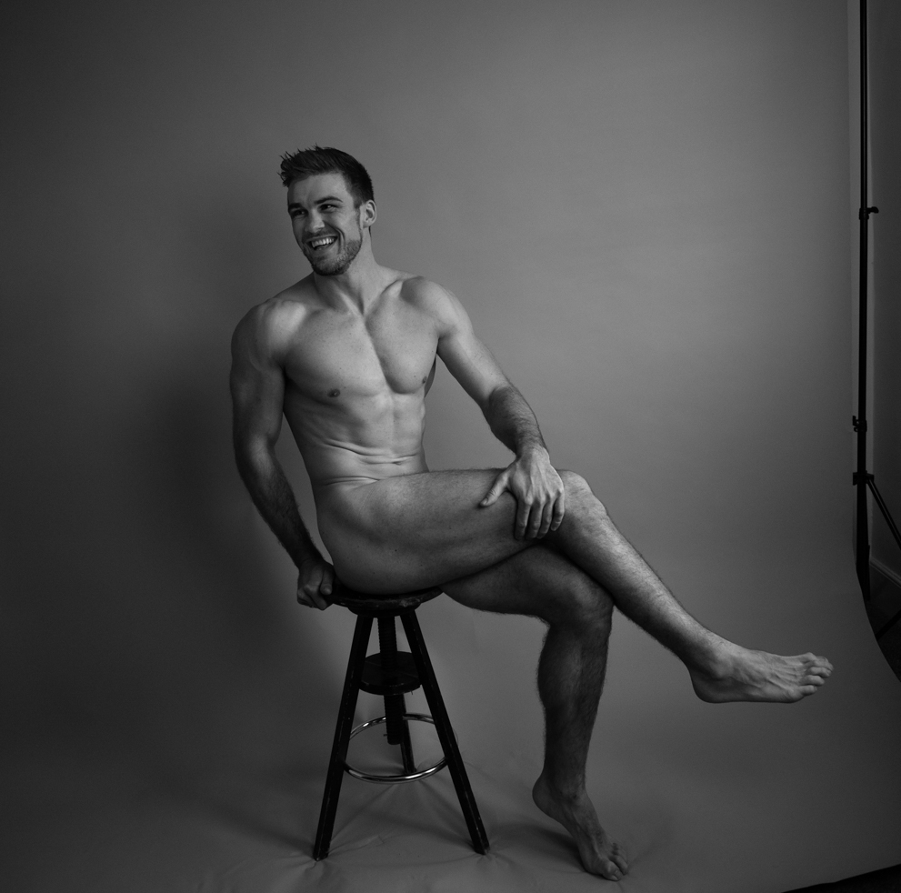 Male physique and fitness photography by Farnham, Surrey based portrait and fashion photographer James Muller