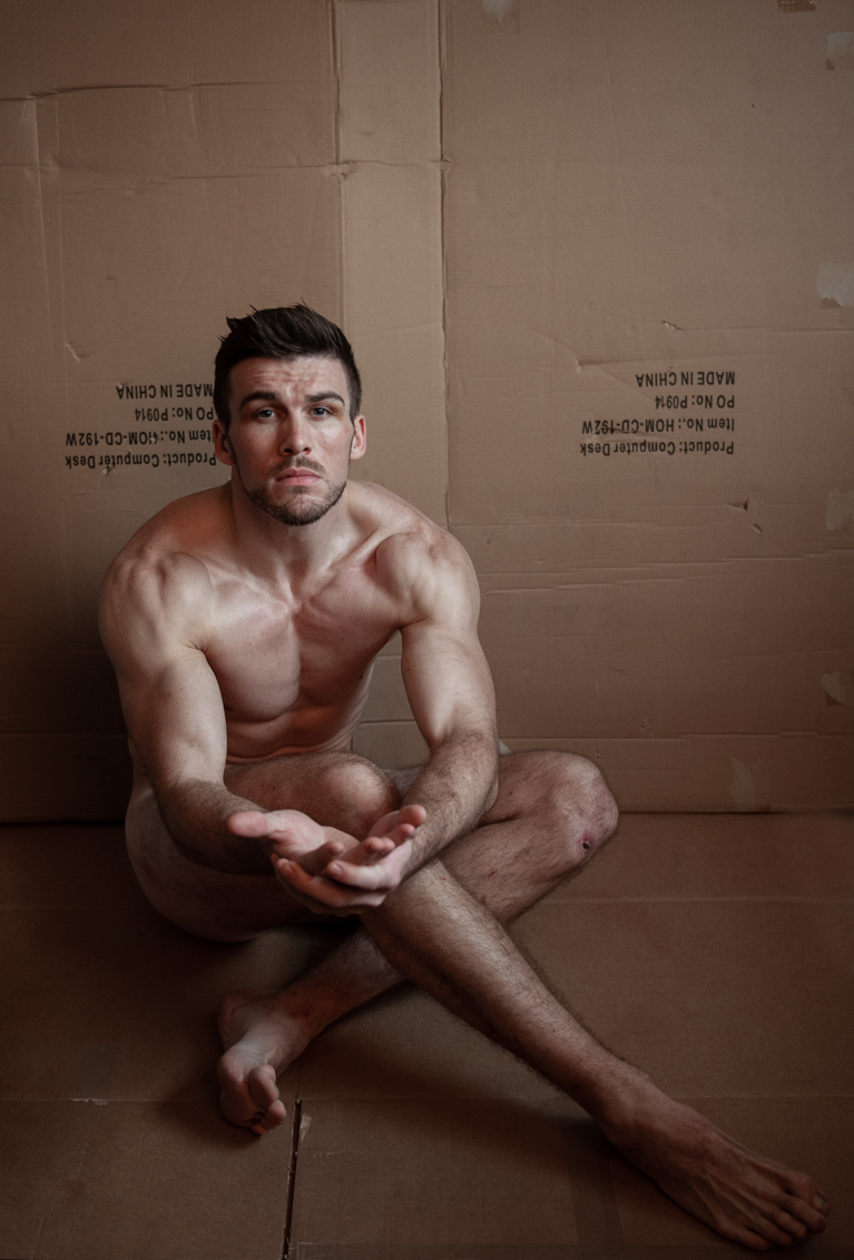 Fine art male physique and fitness photography by Farnham, Surrey based portrait and fashion photographer James Muller