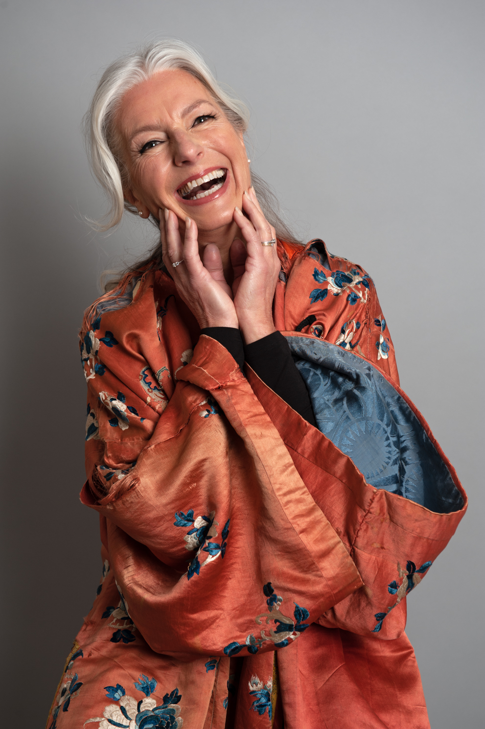 Laughter is the best medicine. Age is just a number. Fashion photography by Farnham, Surrey based portrait photographer James Muller