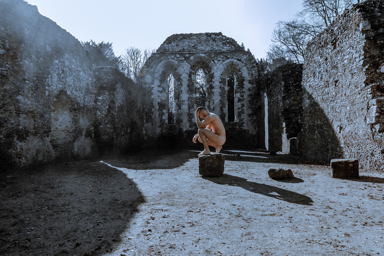 Fine art nude by Farnham, Surrey based portrait photographer James Muller