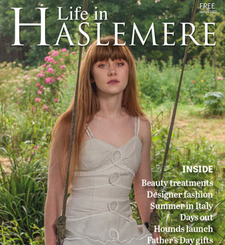Life in Haslemere front cover by Farnham, Surrey based portrait and fashion photographer James Muller