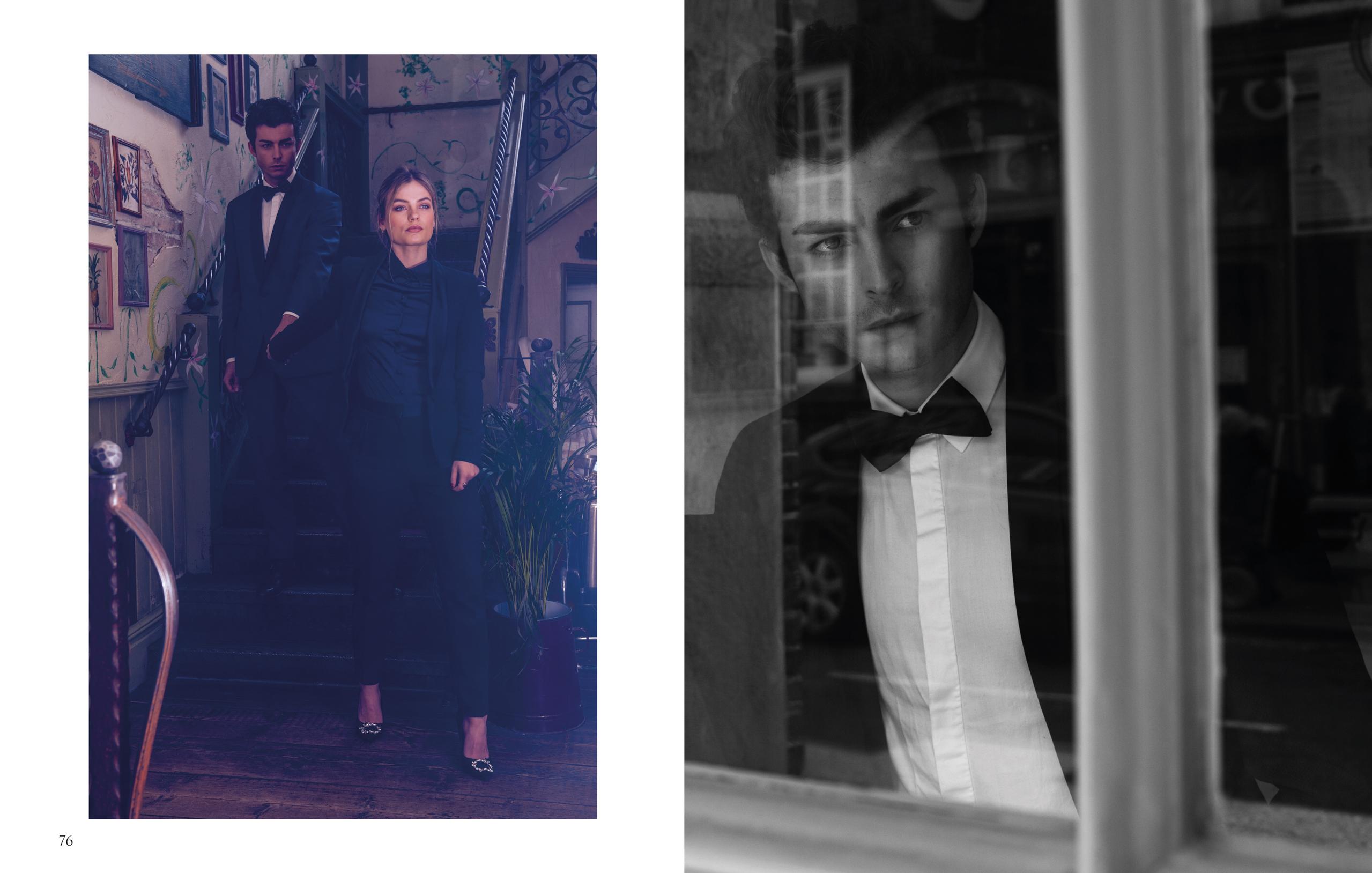 Fashion editorial portrait for LaPalme magazine by Farnham, Surrey based photographer James Muller
