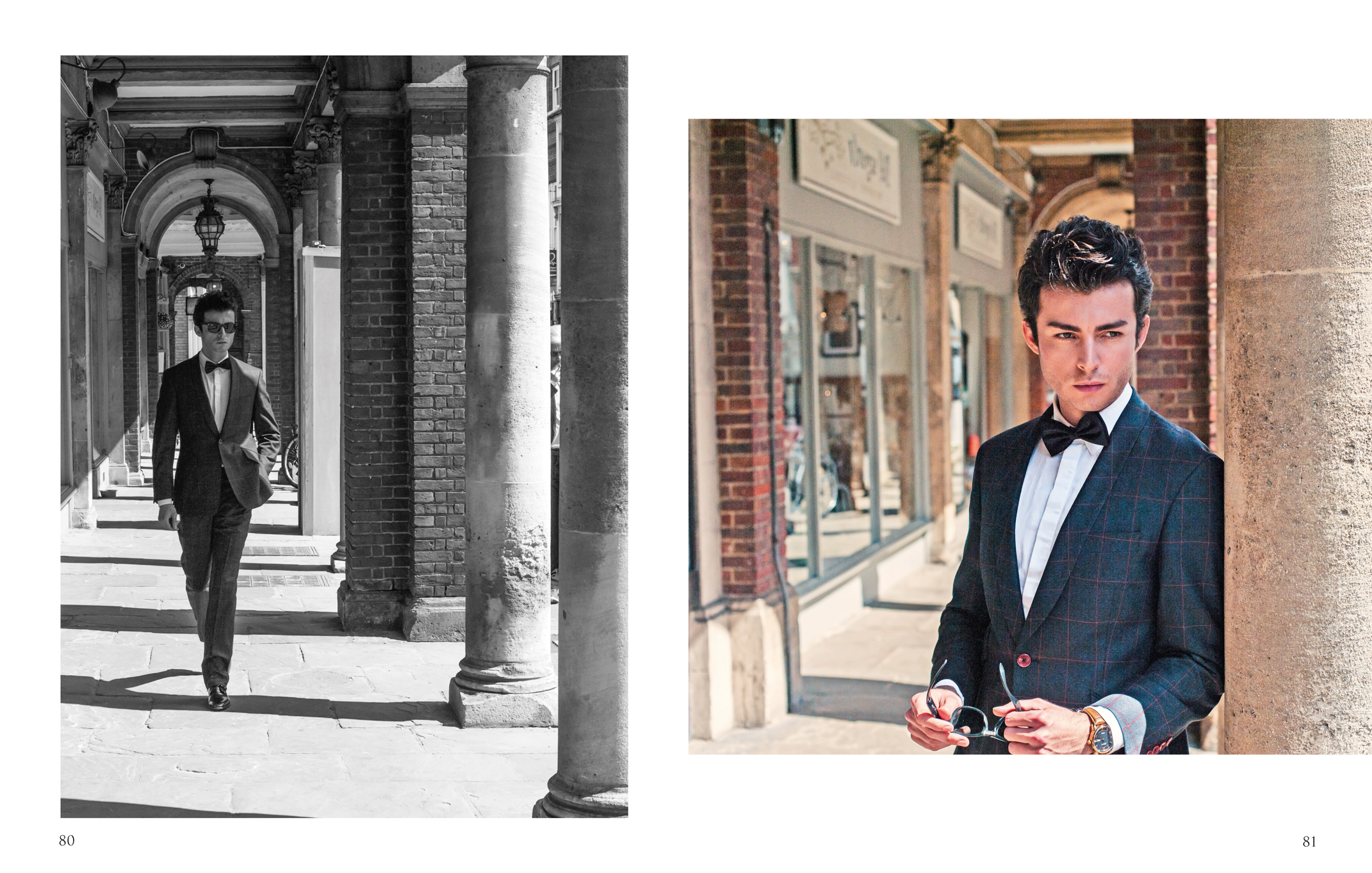 Fashion editorial portrait by Farnham, Surrey based photographer James Muller